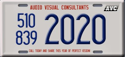 2020 Perfect vision and our phone number